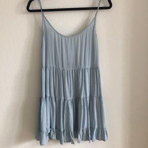 Brandy Melville baby blue sun dress